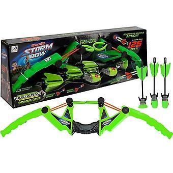 Pil och båge barn - Set - med Sportboog - 58 cm - Grön