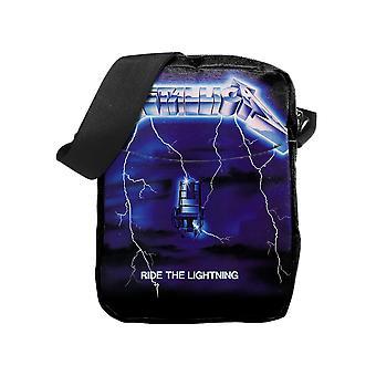 Metallica berijd de verlichting (cross body bag)