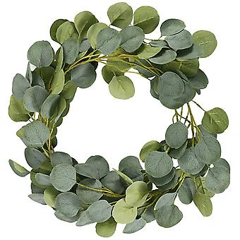 Artificial Eucalyptus Garland Hanging Vine Ivy Leaves Trailing Plant 7FT