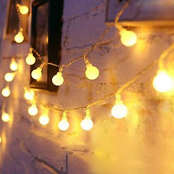 Outdoor String Lights 9.8ft 20 Led Star Decorative Christmas Battery Operated