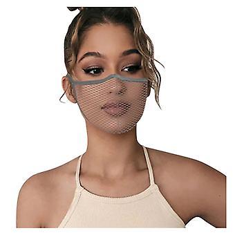 1pc מסכת פנים ניתן לשטיפה הוכחה להגן על כיסוי הפה פנים בחוץ שלך קרוב מדי