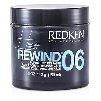Redken Styling Rewind 06 biegsam Styling Paste - 150ml / 5oz