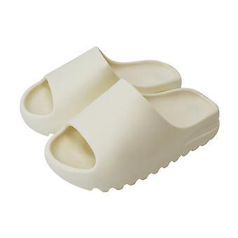 Ladies Slip On Ultra Soft Sliders Sandales d'été Chaussures de plage