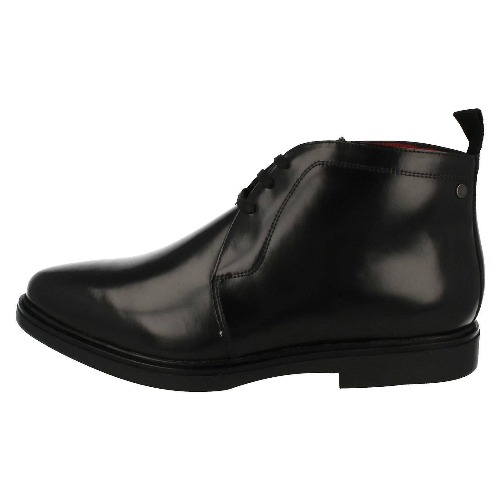 Mens Base London Smart Snøre Ankel Boots Skruen