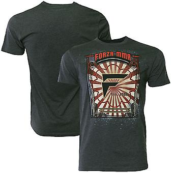 """Forza Sports """"Awakening"""" MMA T-Shirt - Charcoal"""