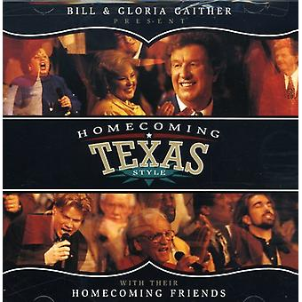 Bill Gaither & Gloria - Homecoming Texas Style [CD] USA import