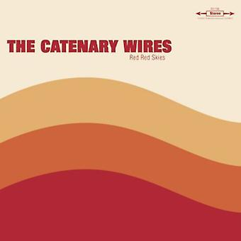Catenary Wires - Red Red Skies [CD] USA import