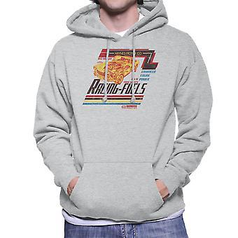 Haynes MG Midget Racing Fuels Distressed Men's Hooded Sweatshirt