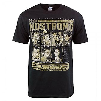 Honcho SFX USCSS Nostromo Crew T Shirt Black