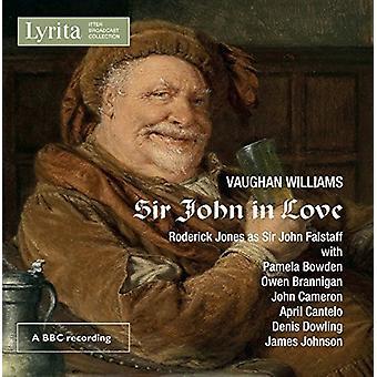 Williams / Philharmonia Orchestra / Cameron - Vaughan Williams: Sir John in Love [CD] USA import