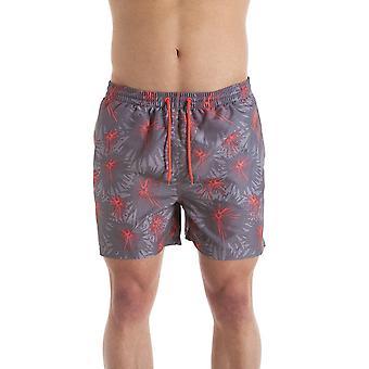 Camille grijs & koraal Mens Swmming Shorts