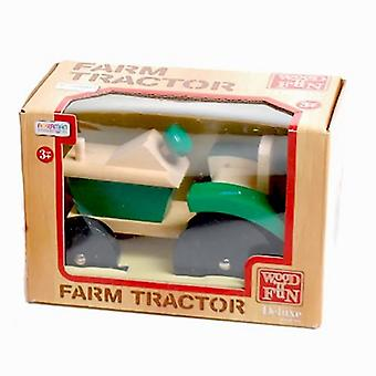 Traditional Wood 'n' Fun Farm Tractor