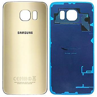 Samsung Galaxy S6 Akku Cover Gold-Original Qualität