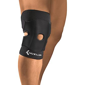 Mueller Adjustable Knee Support - One Size - Black