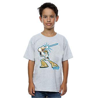 Star Wars Boys Luke Skywalker Character T-Shirt