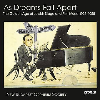 Leopoldi / Eisler / Brudno / New Budapest Orpheum - As Dreams Fall Apart-the Golden Age of Jewish Film [CD] USA import