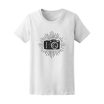 Zdjęcie aparatu sylwetka fotografii Tee - obraz przez Shutterstock