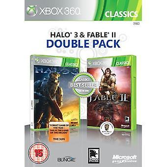 Microsoft Halo 3 en Fable II - Double Pack (Xbox 360) - Als nieuw