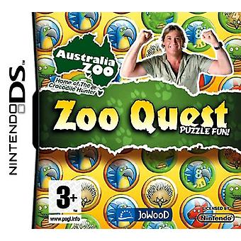 Zoo Quest Puzzle Fun (Nintendo DS) - New