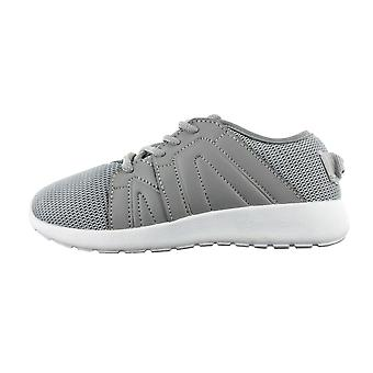 Boys Buckle My Shoe Grey Fashion Cool Mesh Trainer Sports Shoe Various Sizes