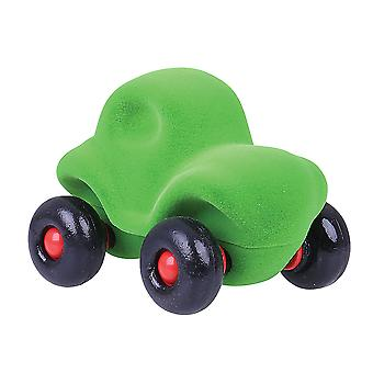 Rubbabu Soft Plush The Little Siena Car (Green) Sensory Squishy Baby Toy