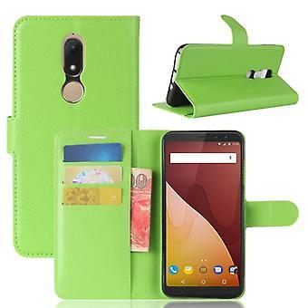 Pocket tegnebog premium grøn-til WIKO Se Prime beskyttelse ærme tilfælde dække pose nye