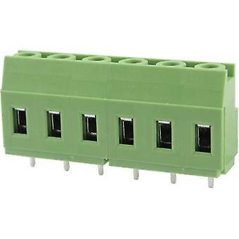 Degson DG129-7,62-03P-14-00AH Screw terminal 3.31 mm² aantal pinnen 3 groen 1 PC('s)