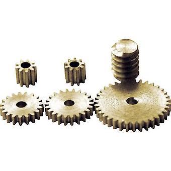 Sol Expert ZRS-1 Brass Micro cogwheel set Module 0.2 1 Set