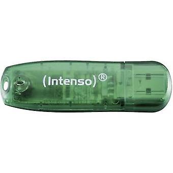 Intenso arco iris línea USB stick 8 GB verde 3502460 USB 2.0