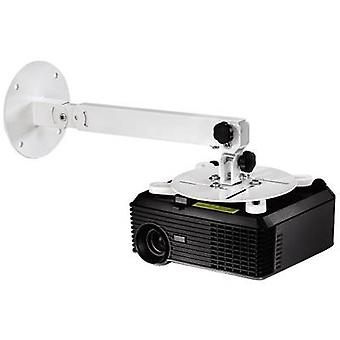Hama 84422 Projector ceiling mount Tiltable, Rotatable Max. distance to floor/ceiling: 63.5 cm Distance to wall (max.): 63.5 cm White