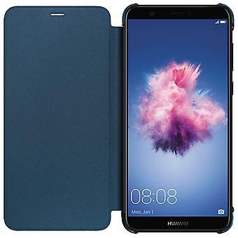Huawei officiel flip cas pour Huawei P Smart - Blau