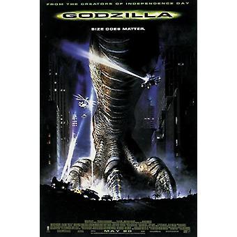 Godzilla juliste US säännöllisesti 101,5 x 68,5 cm
