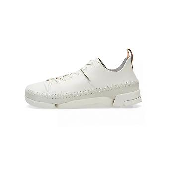 Clarks Originals White Leather Trigenic Flex Boot