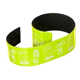 Trespass Snapper Hi Visibility Reflective Wrist Wraps (Pack Of 2)