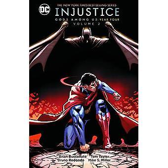 Deuses de injustiça entre E.U. ano quatro - Volume 2 por Brian Buccellato - 9