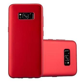 Cadorabo fodral för Samsung Galaxy S8 fallskydd - Flexibel TPU Silikon telefonfodral - Silikon fall skyddande fall Ultra Slim Soft Back Cover Case Bumper