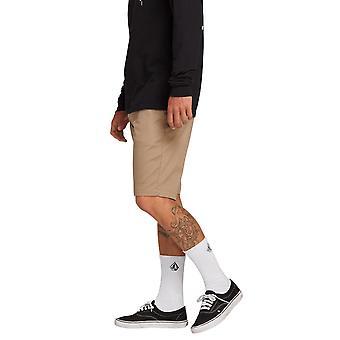 Volcom Men ' s pantaloni scurți stretch ~ frickin modern stretch kaki