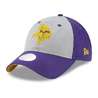 Minnesota Vikings NFL nowa era szary Glitter regulowany kapelusz