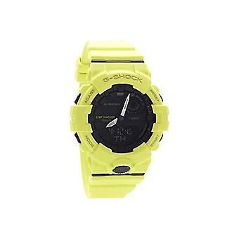 Casio digital watch quartz men with black resin strap GBA-800-9AER