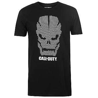 Official Mens Call Of Duty T Shirt