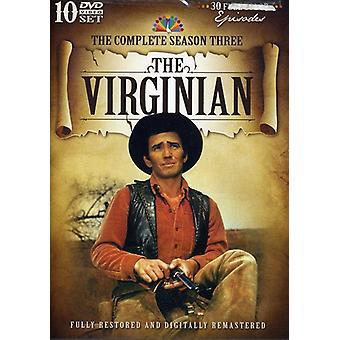 Virginian: Season 3 [DVD] USA import
