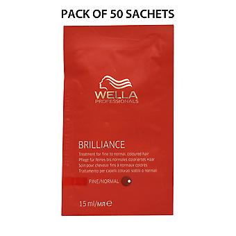 Wella Professionals Brilliance Treatment 15ml Pack of 50 Sachets