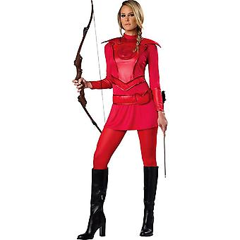 Warrior Huntress Red Adult Costume - 20922