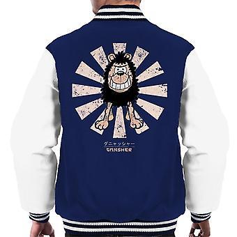 Gnasher Retro Japanese Men's Varsity Jacket