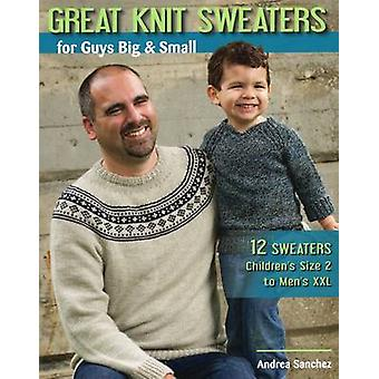 Great Knit Sweaters for Guys Big & Small - 12 Sweaters Children's Size