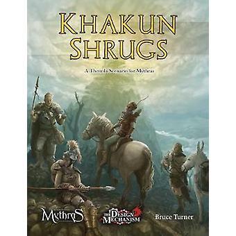 Khakun Shrugs - A Thennla Scenario for Mythras - 9781911471219 Book