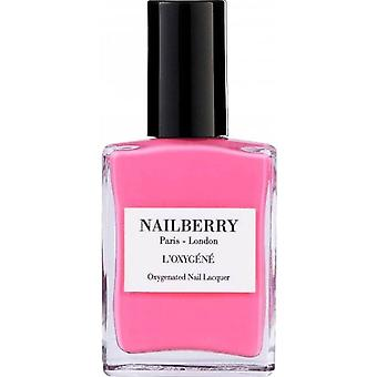 Nailberry Oxygenated Nail Lacquer - Pink Tulip 15ml