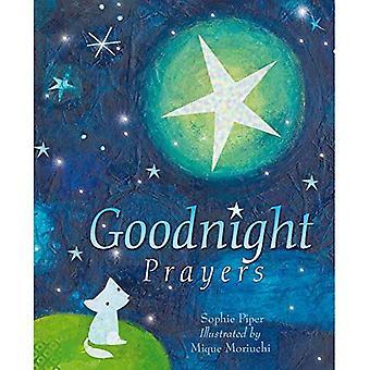Goodnight böner: böner och välsignelser [illustrerad]
