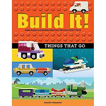 Build It! Things That Go: Make Supercool Models with Your Favorite Lego(r) Parts� (Brick Books)
