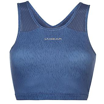 LA Gear Womens Crop Bra Ladies